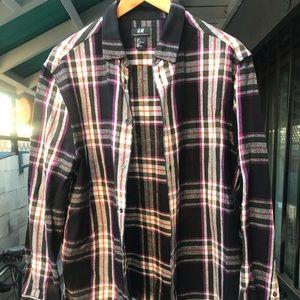🔥SALE🔥 H&M flannel long sleeve